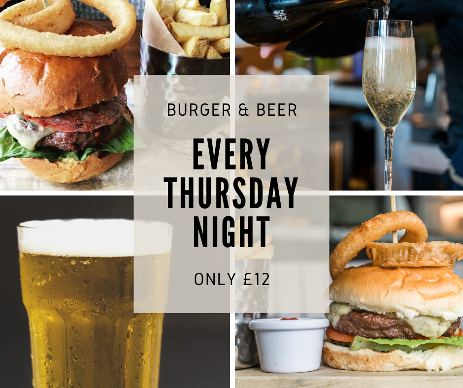 Burger and Beer offer
